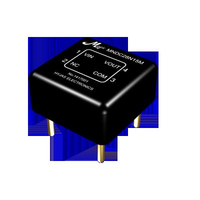 MNDC28N05M/12M/15M 非隔离式直流电压转换器
