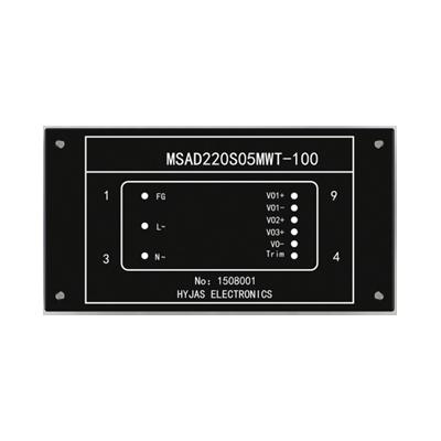 MSAD-100系列隔离式交流-直流电压转换器